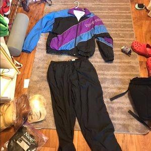 Vintage Reebok track suit